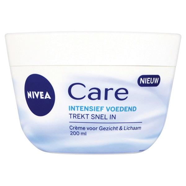Nivea crème  Care  voorkant