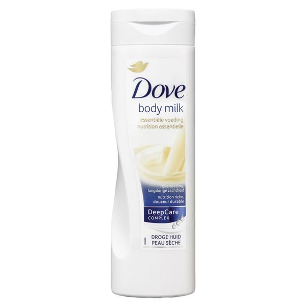 Dove bodymilk essential voorkant