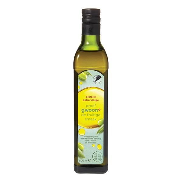Gwoon olijfolie  extra vierge voorkant