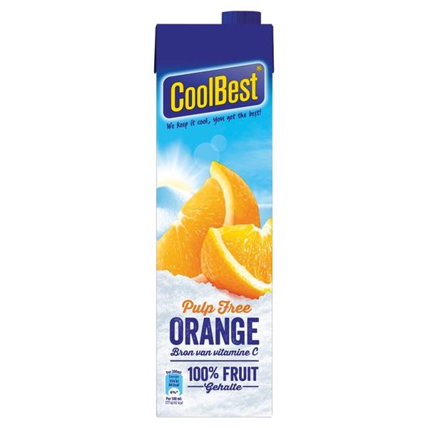 Coolbest coolbest orange pulp free voorkant