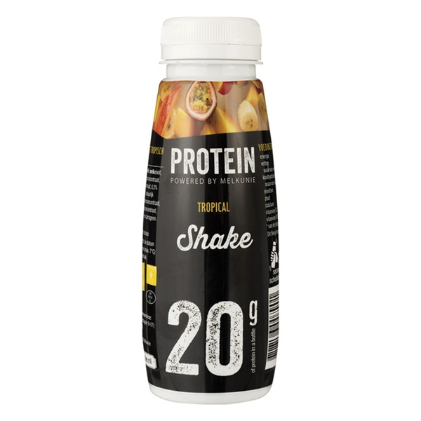 Melkunie proteïne shake tropical voorkant