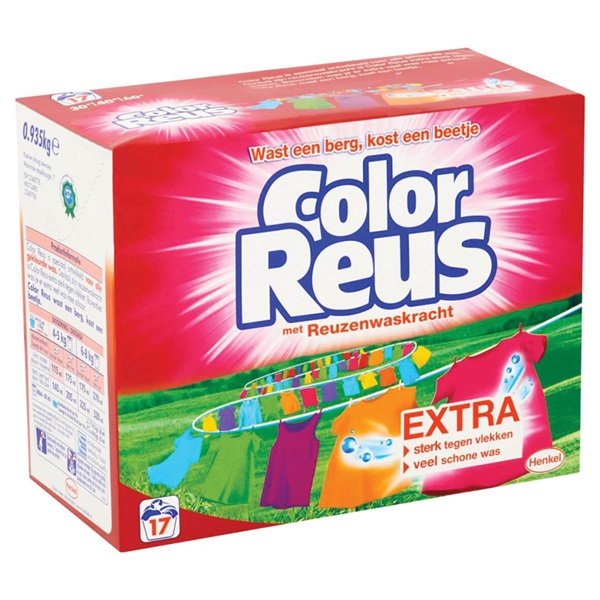 Color Reus Wasmiddel Poeder achterkant