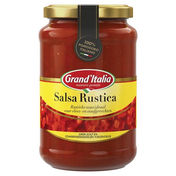 Grand'Italia tomatenbasis Salsa Rustica voorkant