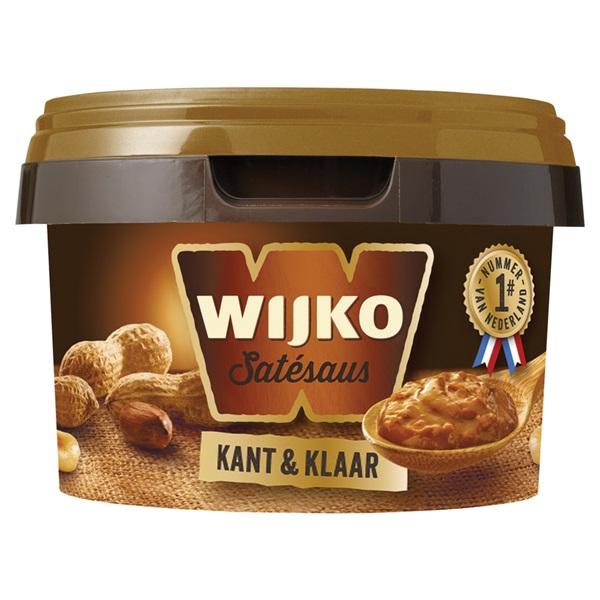 Wijko satésaus Kant en Klaar voorkant