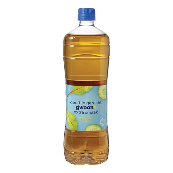 Gwoon azijn geel voorkant