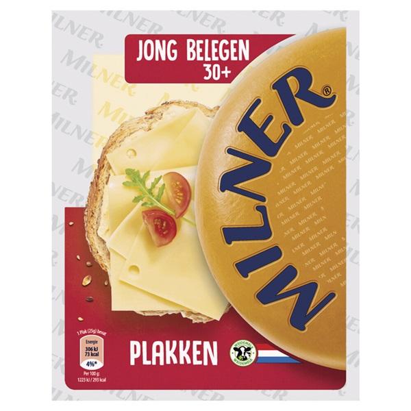 Milner kaasplakken licht gerijpt 30+ voorkant