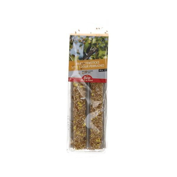 Best for your Friend Parkietensticks met bijenhoning voorkant