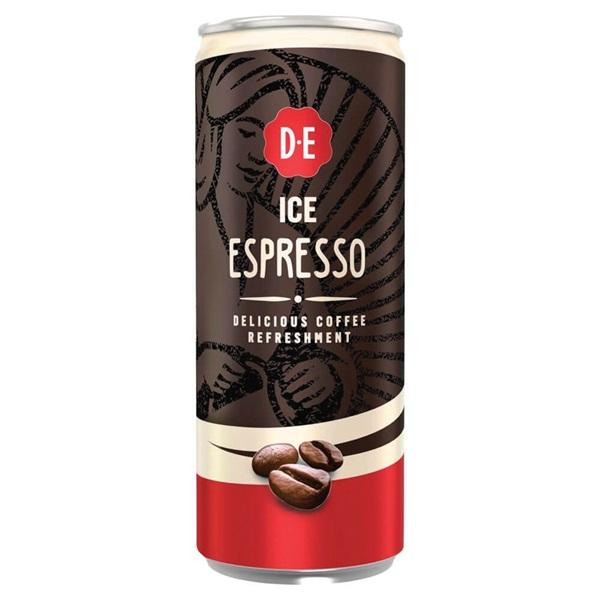 Douwe Egberts ice coffee espresso voorkant