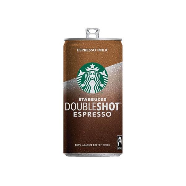 Starbucks doubleshot  espresso & milk voorkant
