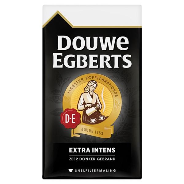 Douwe Egberts snelfilterkoffie extra intens  voorkant