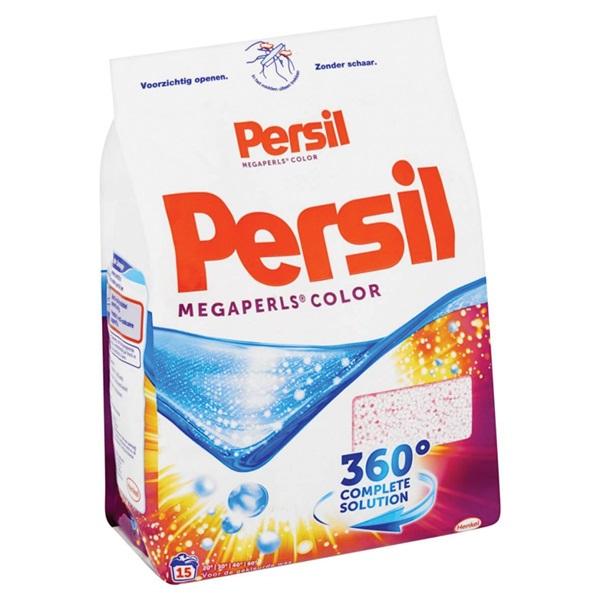 Persil Wasmiddel Poeder Megaperls Color achterkant