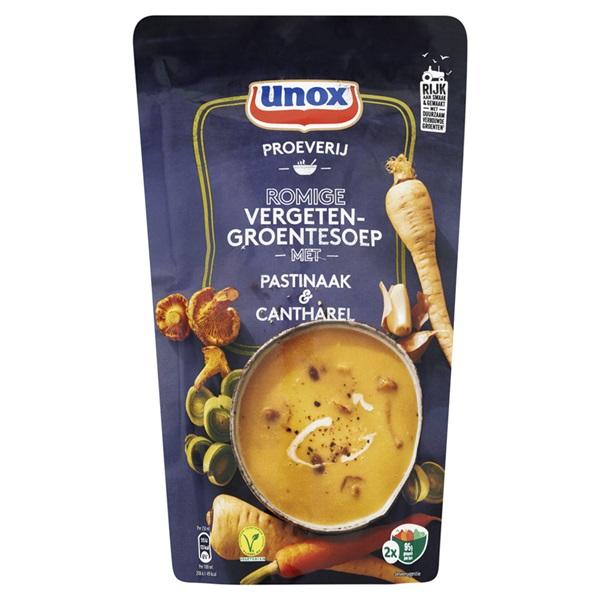 Unox proeverij romige vergeten-groentesoep voorkant