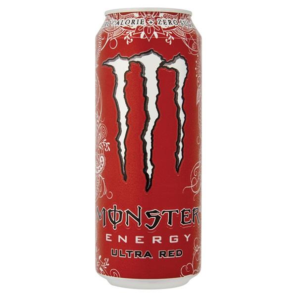 Monster ultra energiedrank red voorkant