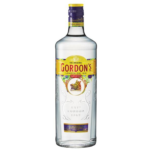 Gordon's gin voorkant