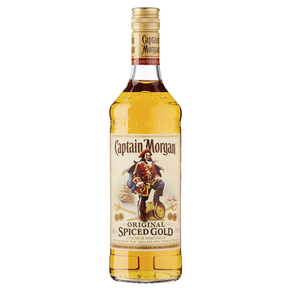 Captain Morgan rum spiced gold voorkant