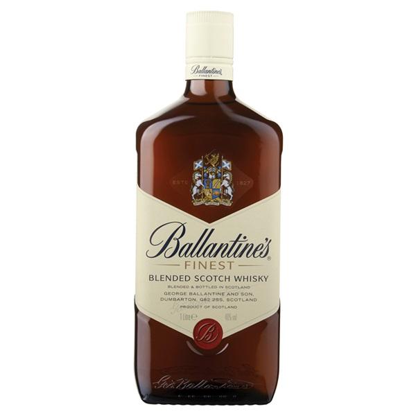 Ballantine's whisky voorkant
