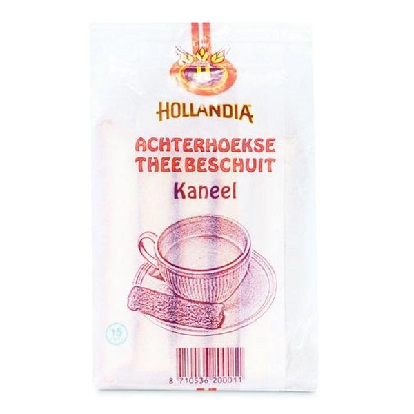 Hollandia Matzes Theebeschuit kaneel voorkant