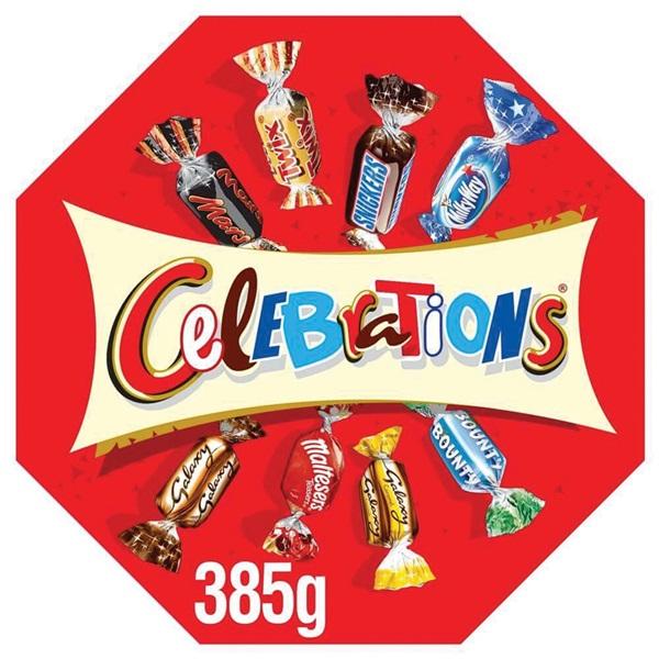 Celebration Chocolade Grote Doos voorkant