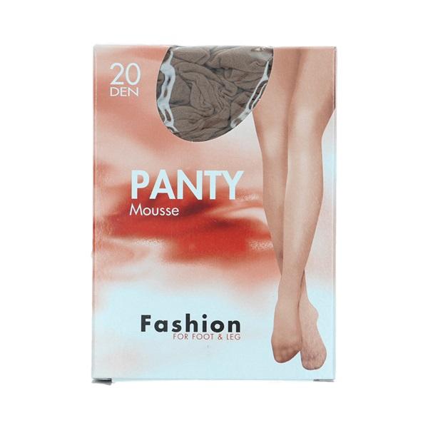Foot-Leg panty mousse wineblush maat 44-48, 20 denier voorkant
