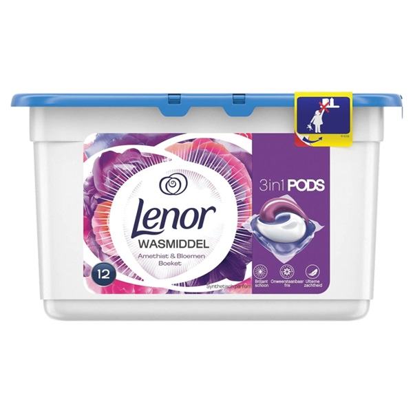 Lenor pearls wascapsules floral spring voorkant
