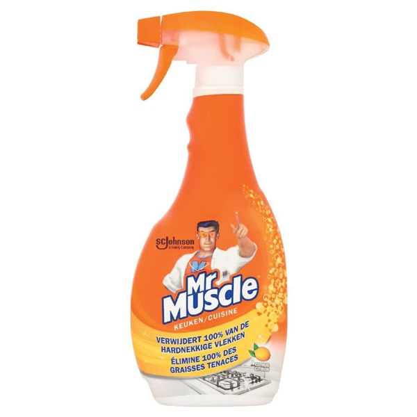 Muscle Keukenreiniger voorkant
