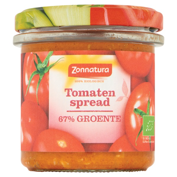 Zonnatura groentespread tomaat voorkant