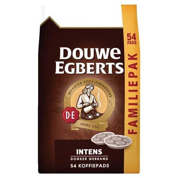 Douwe Egberts koffiepads intens voorkant