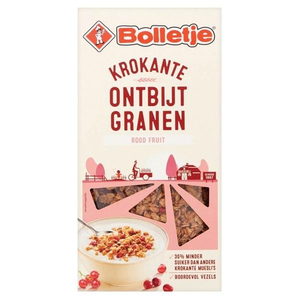 Bolletje ontbijtgranen cranberry en bosbes voorkant