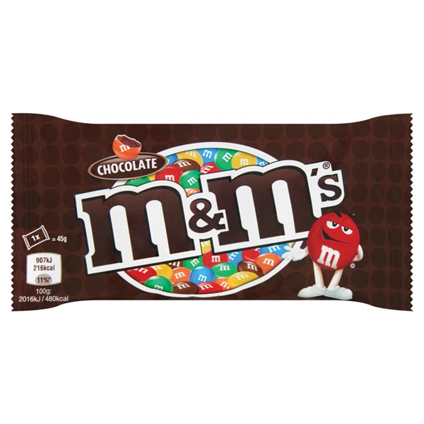 M&M'S chocolate  voorkant