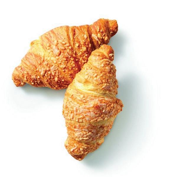 Croustif roomboter croissant  ham-kaas voorkant