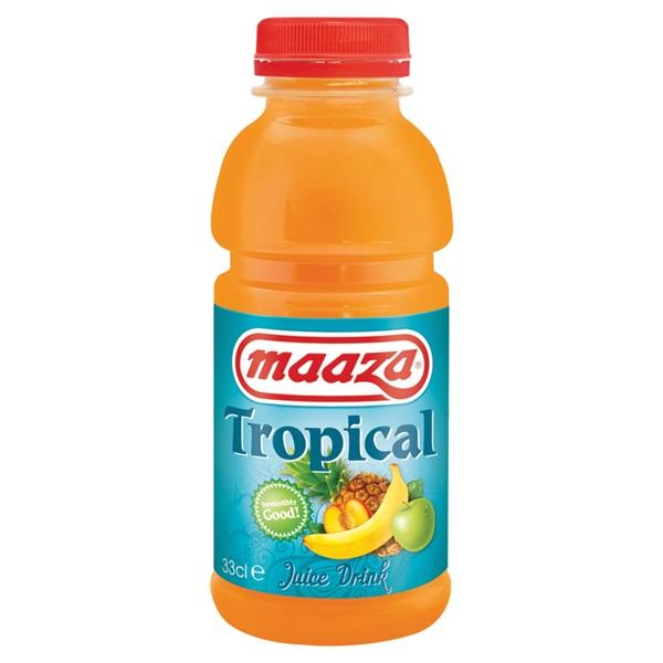 Maaza tropical drink voorkant