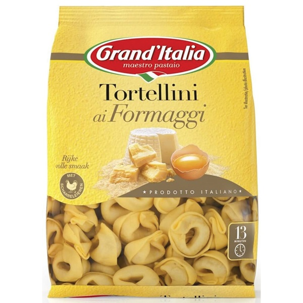 Grand'Italia tortellini ai formaggi voorkant