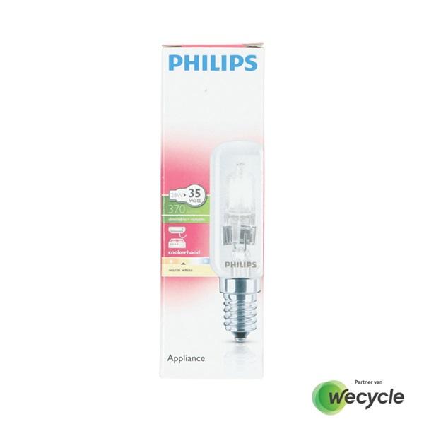 Philips afzuigkaplamp halogeen E14/28W voorkant