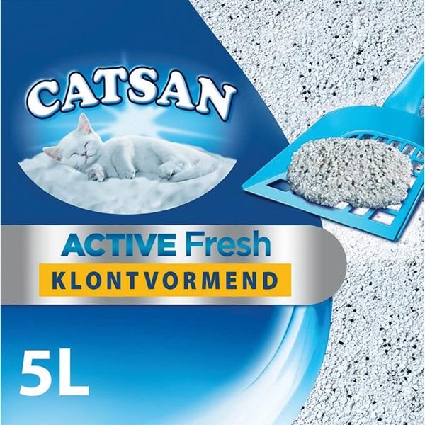 Catsan kattenbakvulling active fresh voorkant