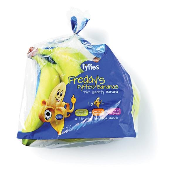 Fyffes Fairtrade kinderbananen voorkant