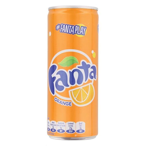 Fanta Orange voorkant