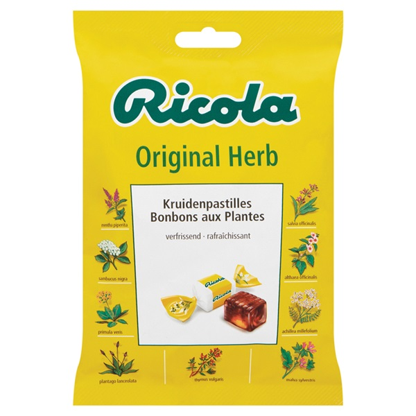 Ricola Suikerwerk Original voorkant
