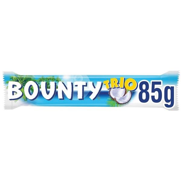 Bounty chocolade trio voorkant
