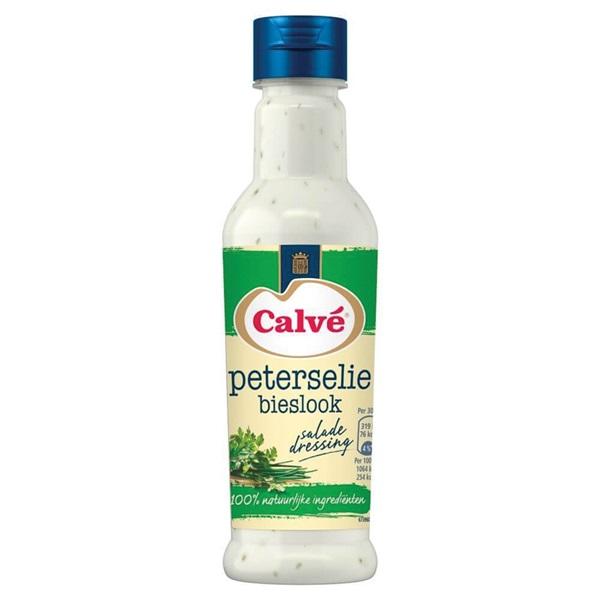 Calvé dressing peterselie-bieslook voorkant