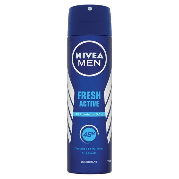 Nivea men deodorant fresh active voorkant