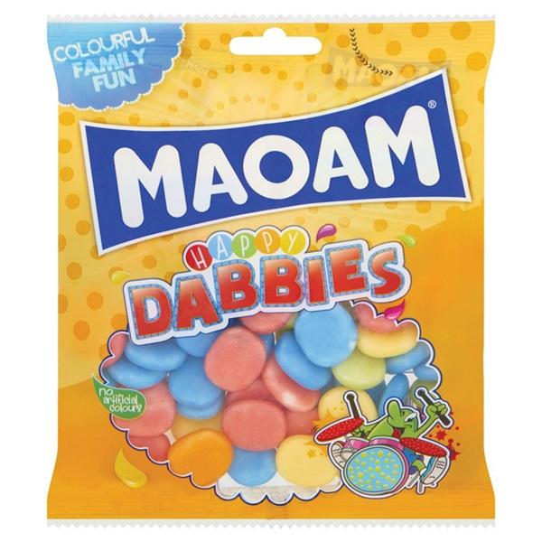 Maoam snoep happy dabbies voorkant