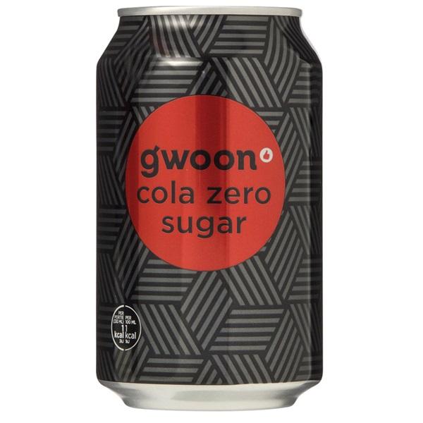 Gwoon cola zero voorkant