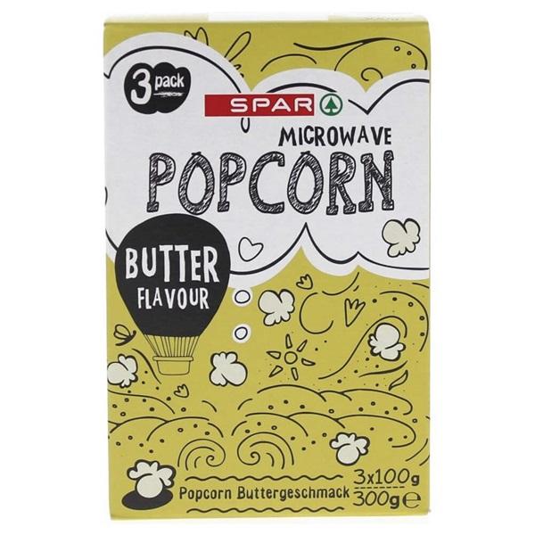 Spar popcorn butter voorkant