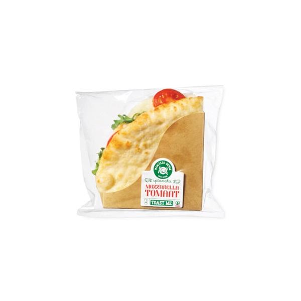 Spar spianata mozzarella tomaat voorkant