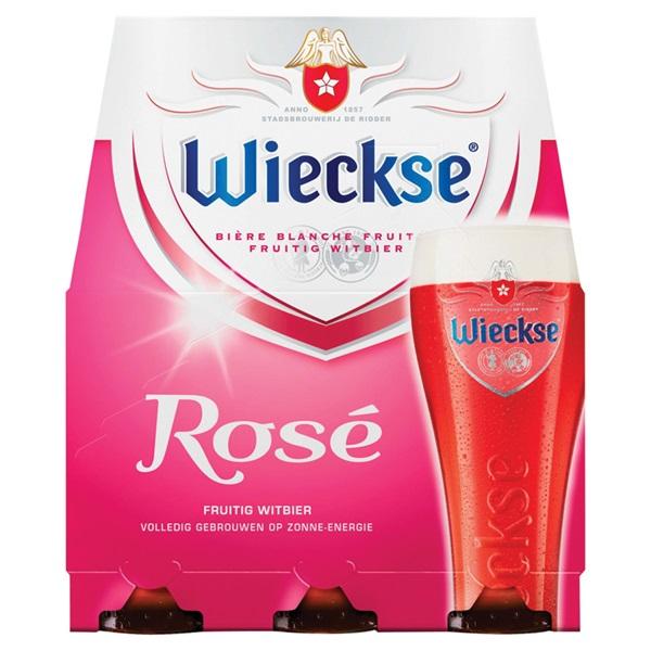 Wieckse rosé bier voorkant