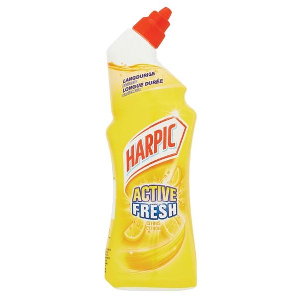 Harpic toiletreiniger active fresh citroen voorkant