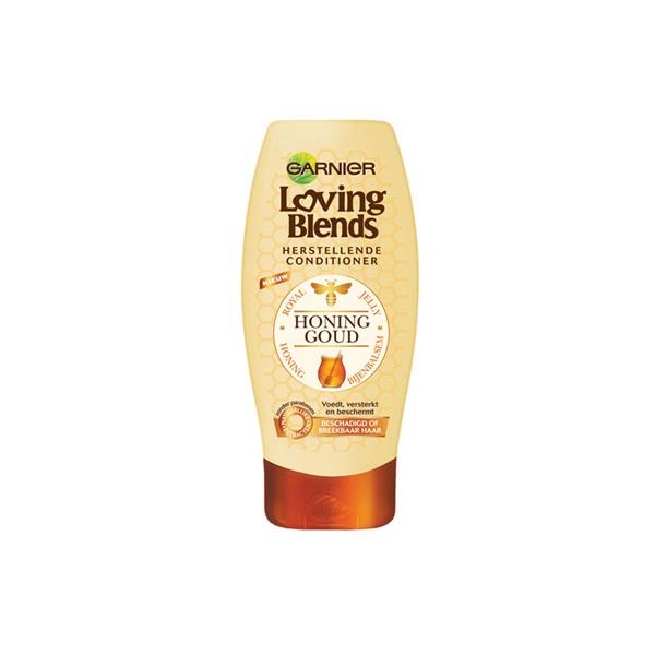 Garnier Loving Blends conditioner honing goud voorkant