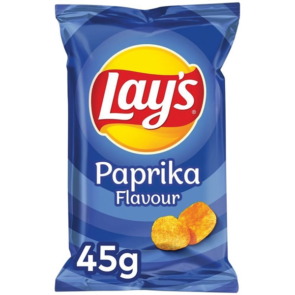 Lay's chips paprika voorkant
