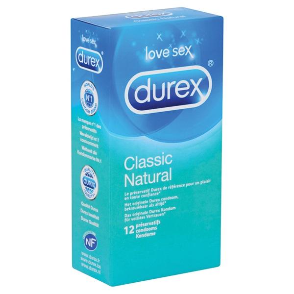 Durex Condooms Natural achterkant