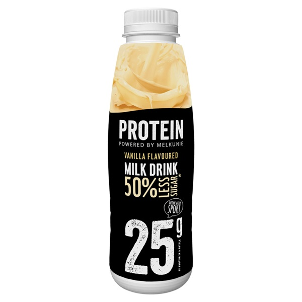 Melkunie protein melk drank vanille voorkant